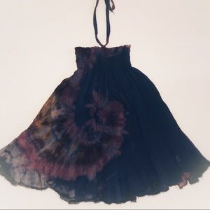 Other - Tie Dye infant hippie dress Size S 9-12